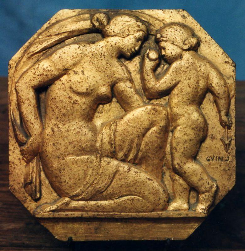 Femme et amour, Richard Guino 1912