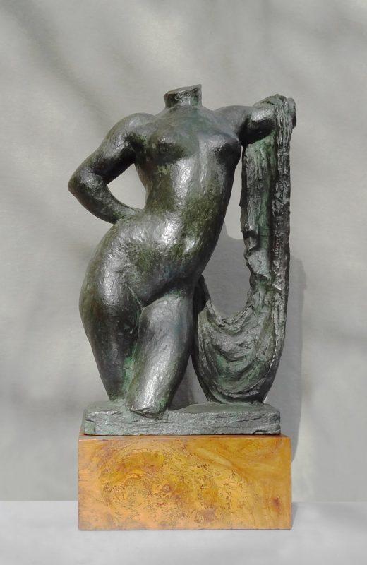 Torse à la draperie - Richard Guino, c. 1912