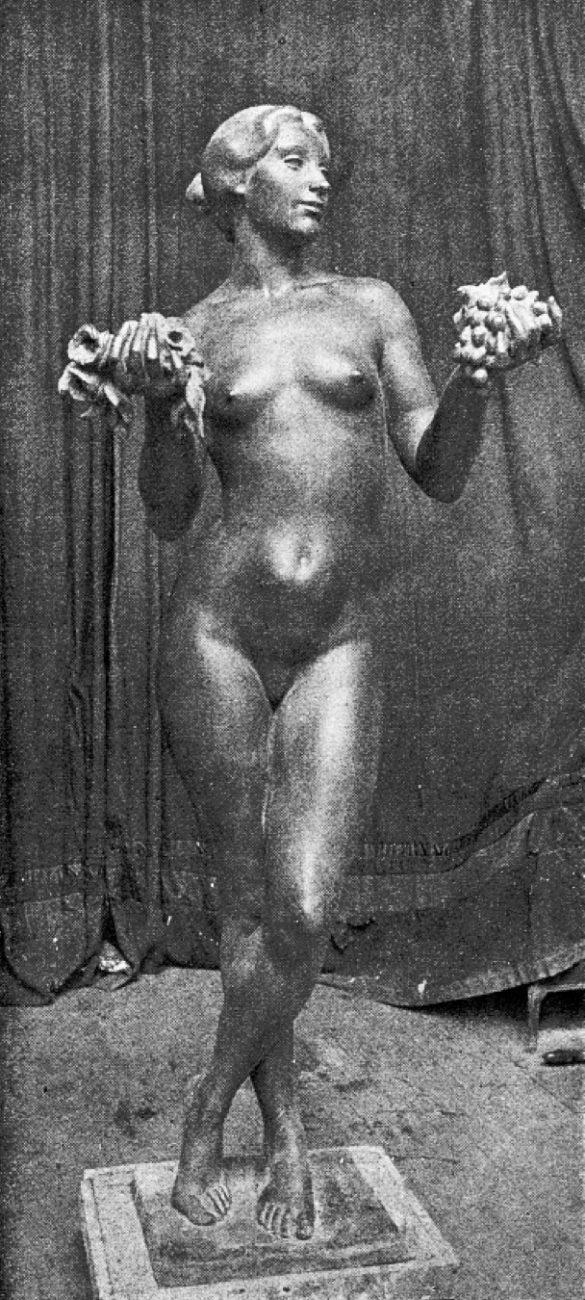 Vendangeuse - Richard Guino, c. 1913