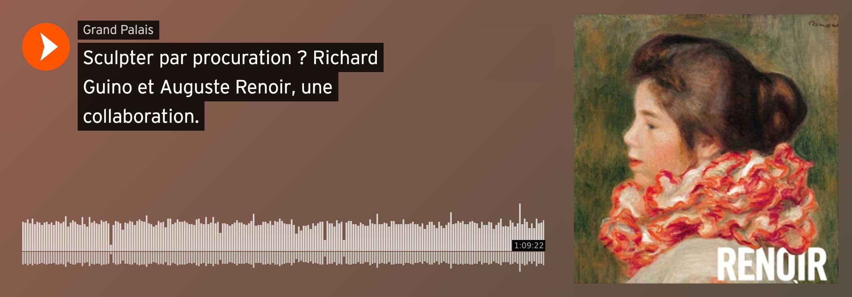 Visuel lien audio conférence Renoir et Guino par Emmanuelle Héran