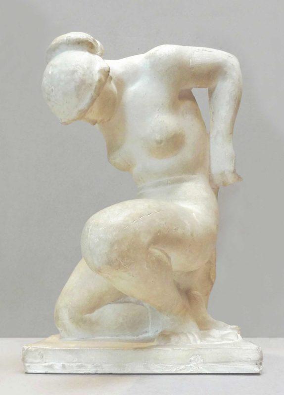Baigneuse agenouillée - Richard Guino, c. 1912