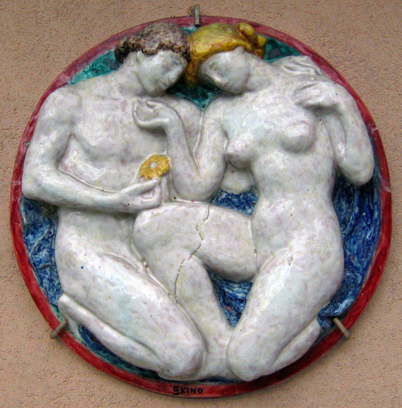 Couple - Richard Guino, c. 1911
