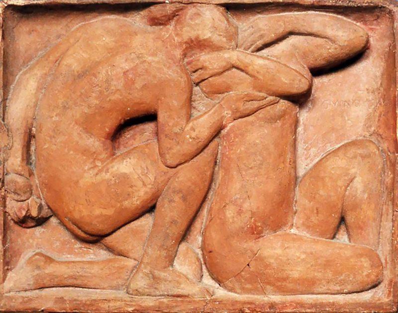 Adam et Ève - Richard Guino, c. 1910