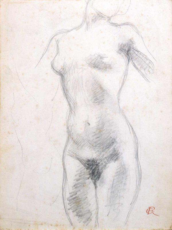 Torse de femme - Richard Guino, c. 1912