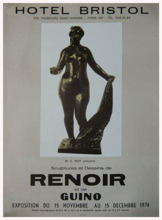 Sculptures et dessins de Renoir et de Guino - Paris, Hôtel Bristol, 1974