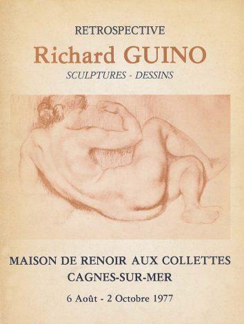Rétrospective Richard Guino - Cagnes-sur-Mer, Maison de Renoir, 1977
