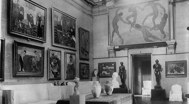 Musée national d'art moderne occidental, palais Morozov, Moscou, 1937