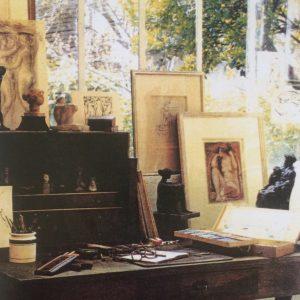 L'atelier de Richard Guino à Antony