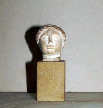 Tête de femme, Richard-Guino - c. 1910