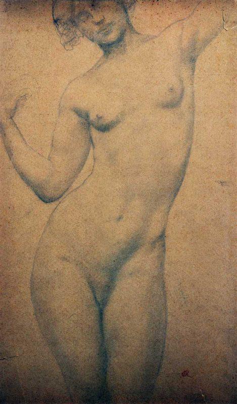 Étude de nu - Richard Guino, 1912
