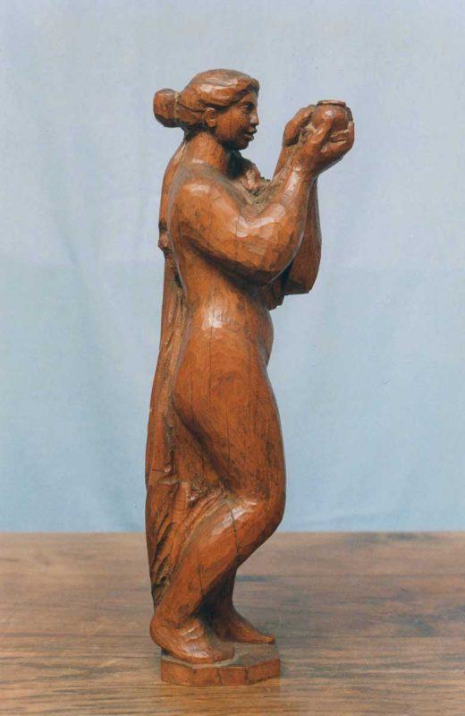 Femme au pichet - Richard Guino, c. 1912
