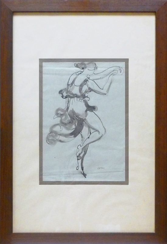 Isadora Duncan - Richard Guino, 1913