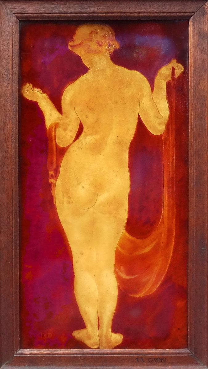 Nu à la draperie de dos - Richard Guino, c. 1913