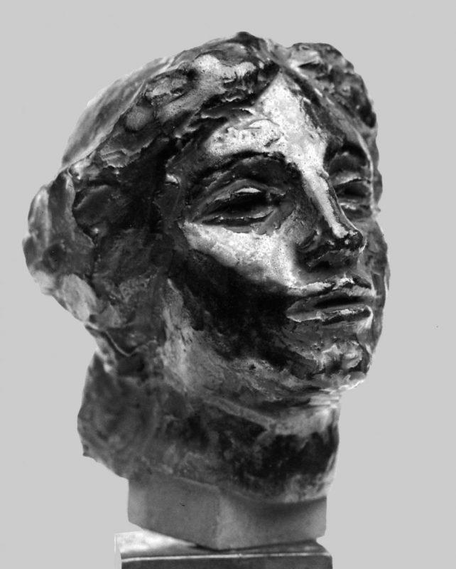Tête de femme au chignon - Richard Guino, c. 1912