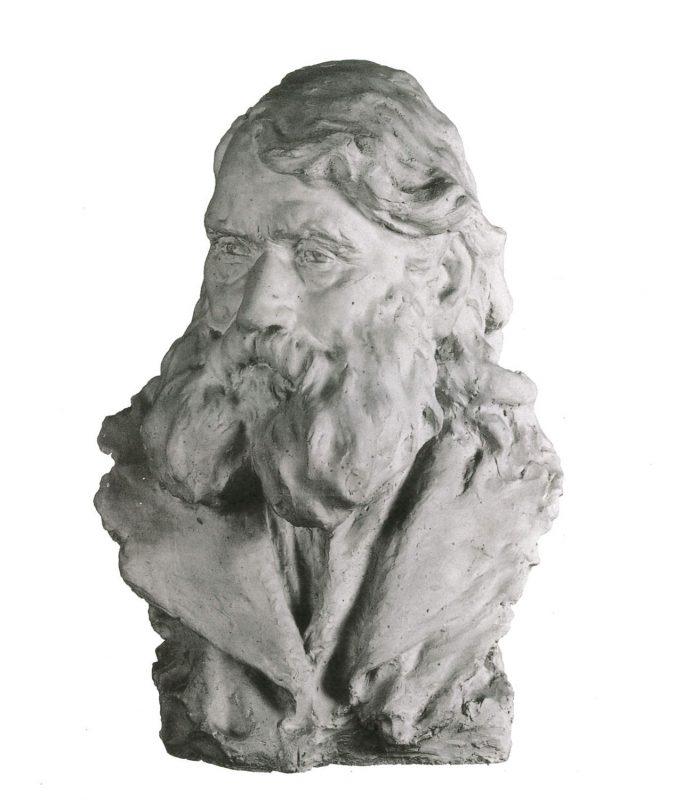 Buste d'homme - Richard Guino, 1907