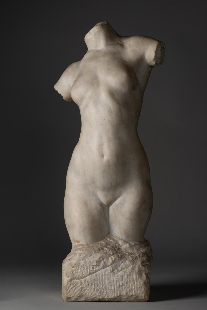 Torse de femme - Richard Guino, c. 1910